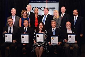 Six San Fernando Valley CFOs Honored at Annual Awards